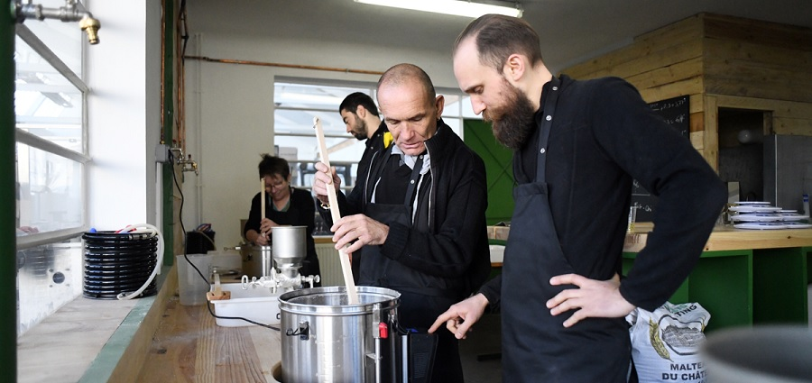 Venez fabriquer votre mousse à la Brasserie stéphanoise!