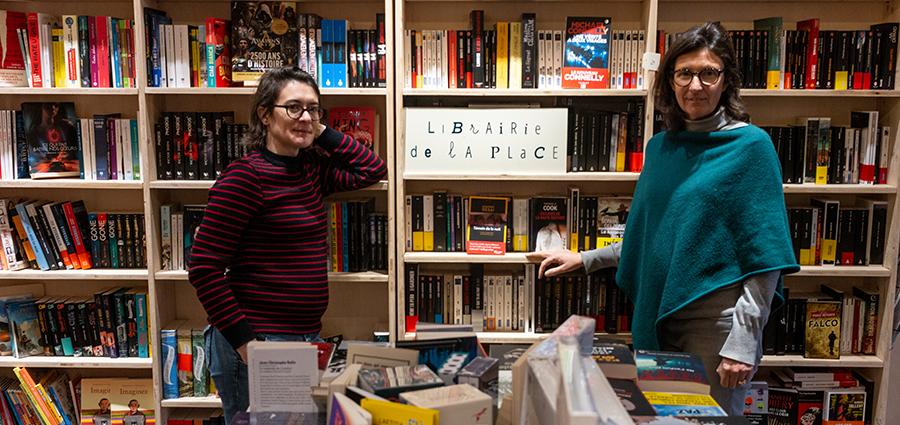 La Librairie de la Place, ou le cœur à l'ouvrage