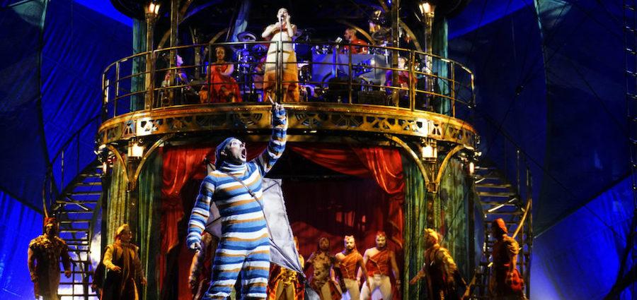 Le Cirque du Soleil à Lyon en mars 2020