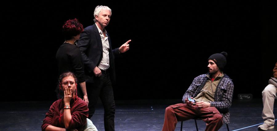 Laurent Gutmann met en scène ses élèves