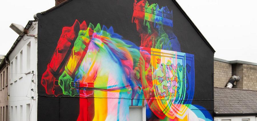 Peinture Fraîche à l'avant-garde du street art