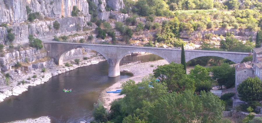 L'Ardèche, en flèche