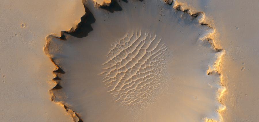 Victoria : spectaculaire cratère