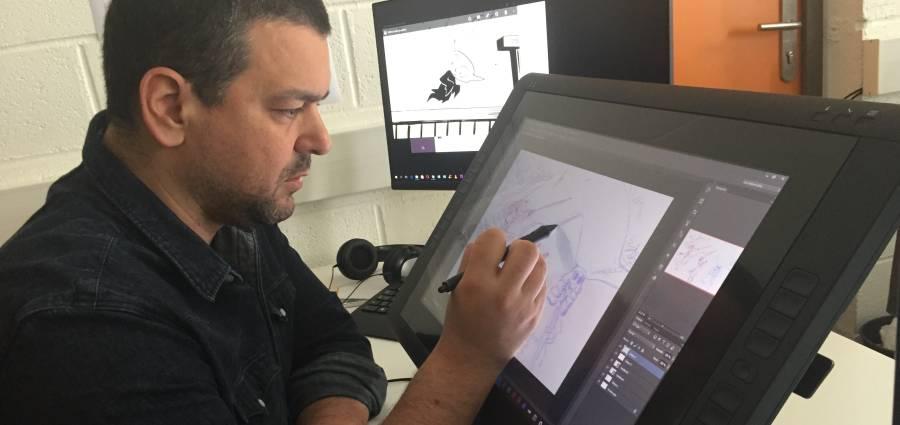 Joann Sfar : « Petit Vampire me tient le crayon depuis toujours »