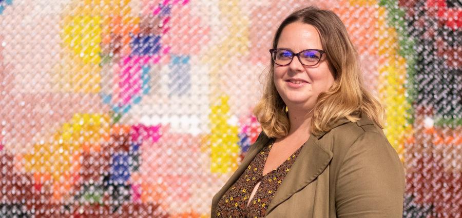 Fanny Dubot, présidente du Musée des Confluences
