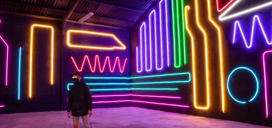 Street art : à Lyon, le festival Peinture fraîche fait fusionner créativité et technologies