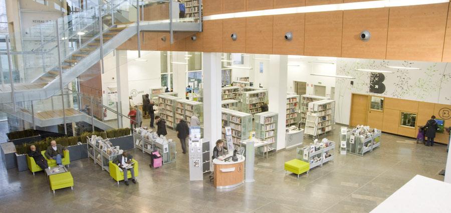Lyon : clique et collecte à la bibliothèque municipale
