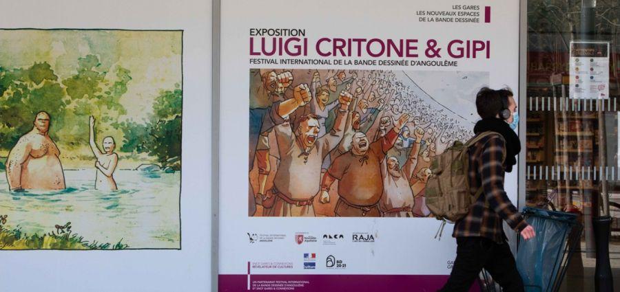 BD : le festival d'Angoulême s'affiche en gare de Grenoble