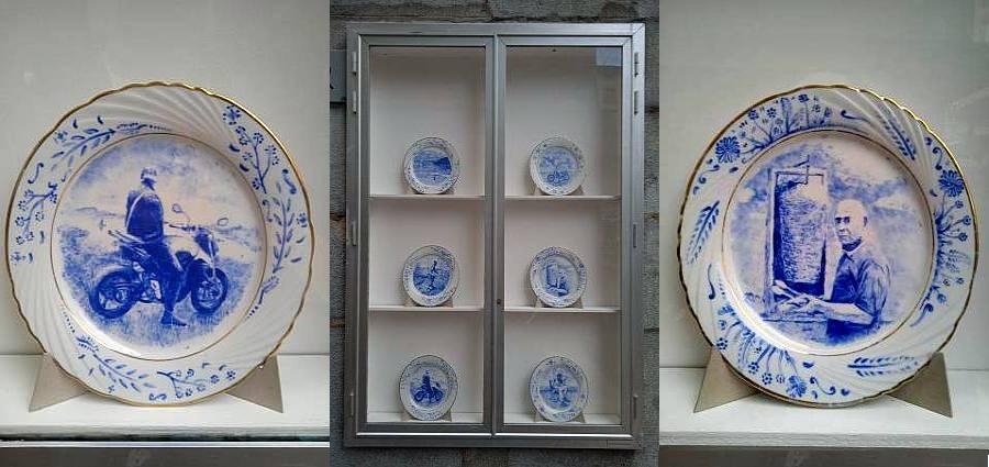 Clip sur porcelaine
