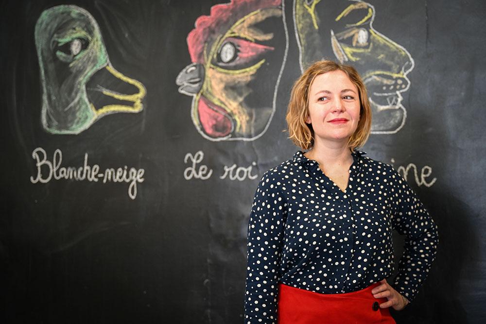 Martha Spinoux-Tardivat, la pétillante nouvelle directrice des Clochards Célestes