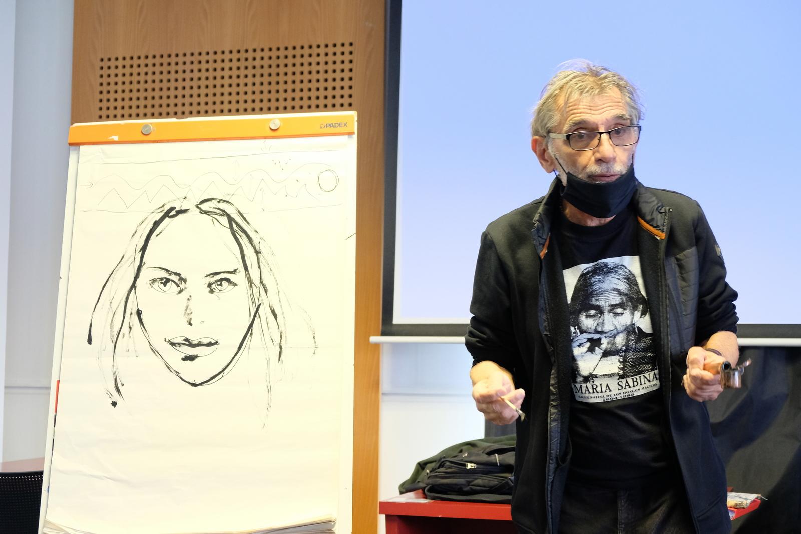 Grenoble impressionne Edmond Baudoin