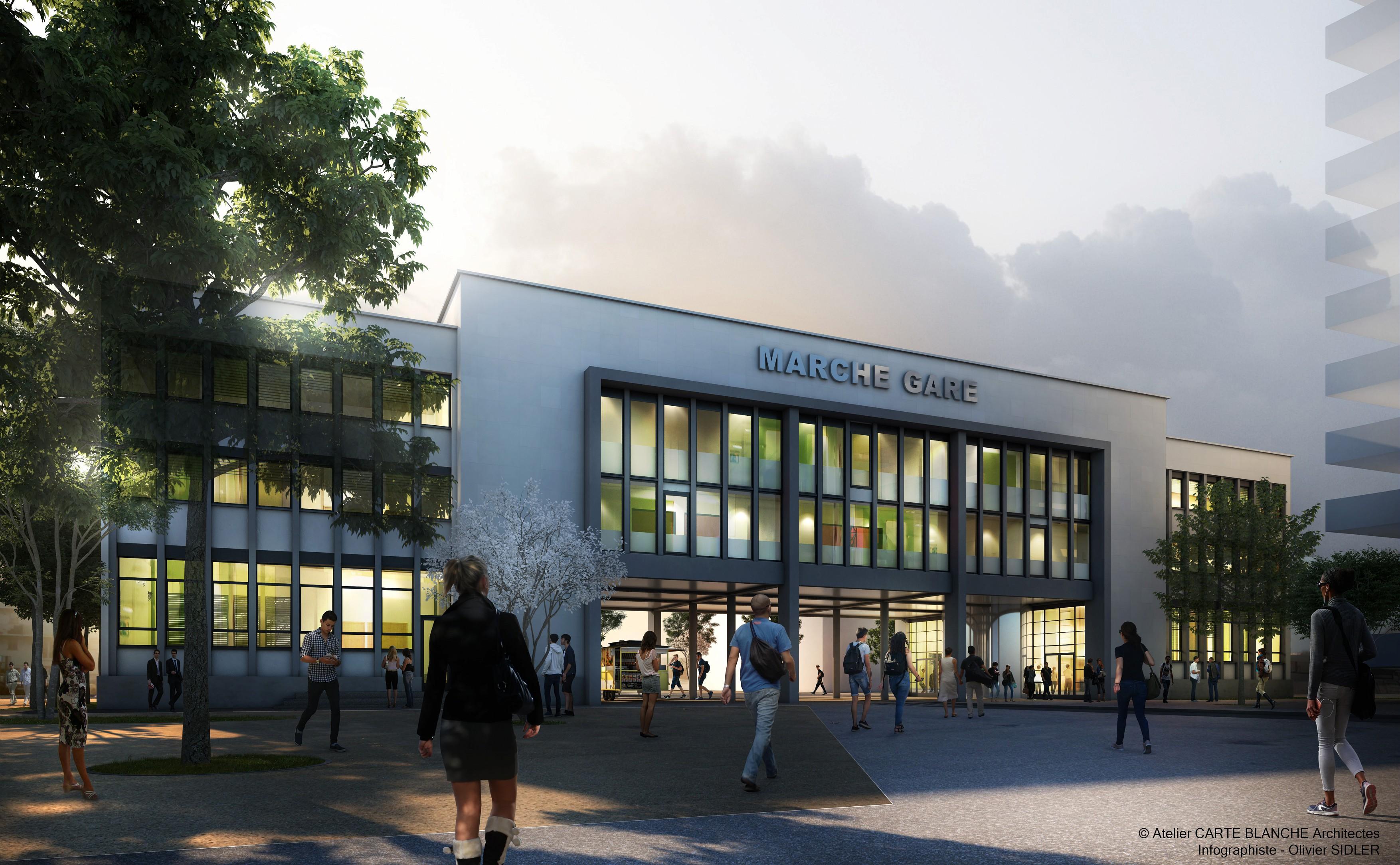 Marché Gare : lancement de la deuxième phase des travaux
