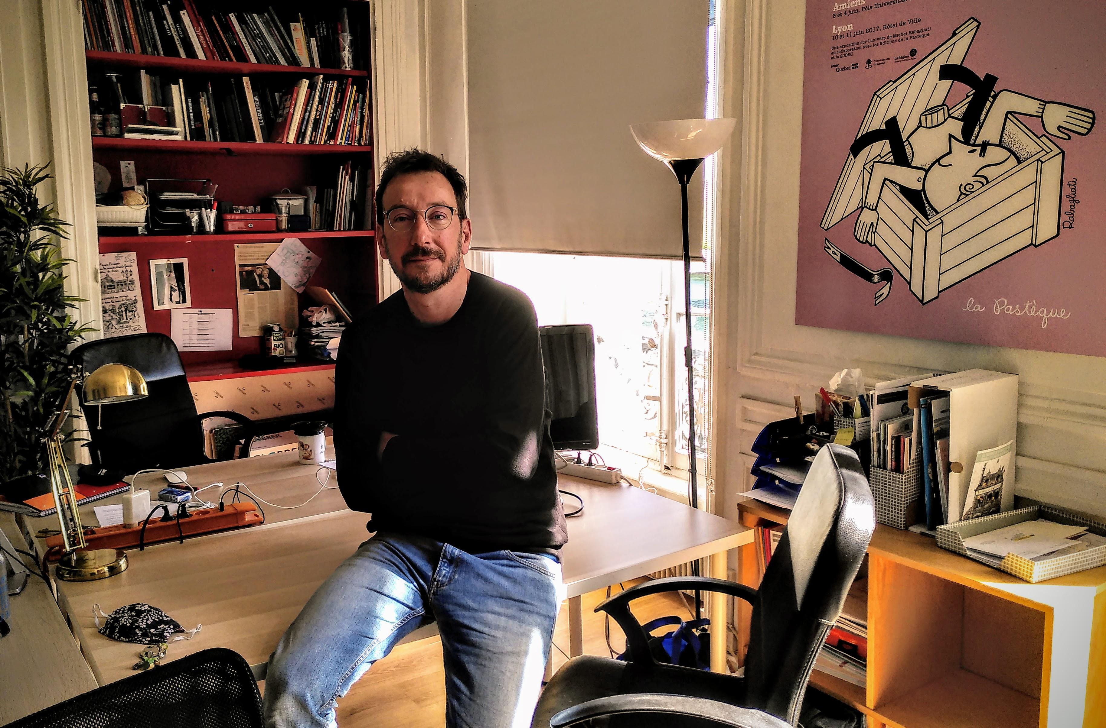 Mathieu Diez, directeur de Lyon BD : « il est temps pour moi de me redéfinir »