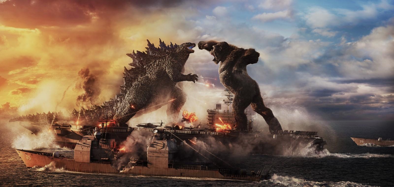"""""""Godzilla vs Kong"""" de Adam Wingard : monstres et compagnie"""
