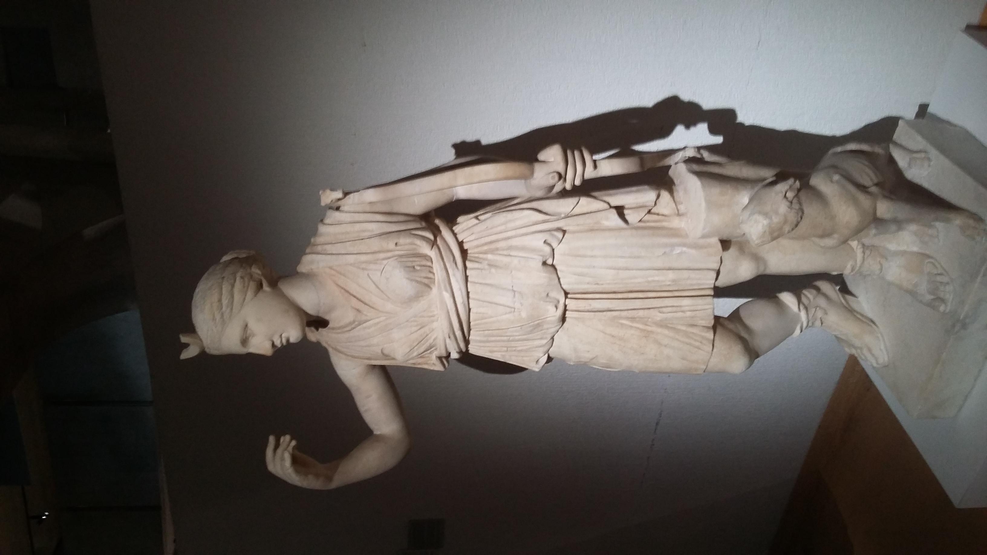 Louvre et Lugdunum: une voie romaine à double sens