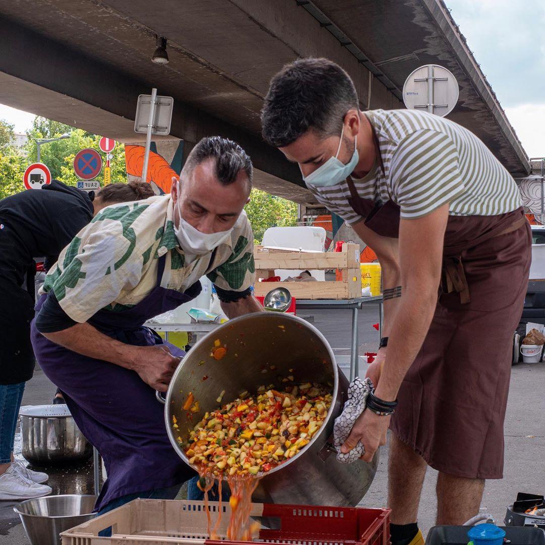 Graille : cuisine itinérante au profit des plus démunis
