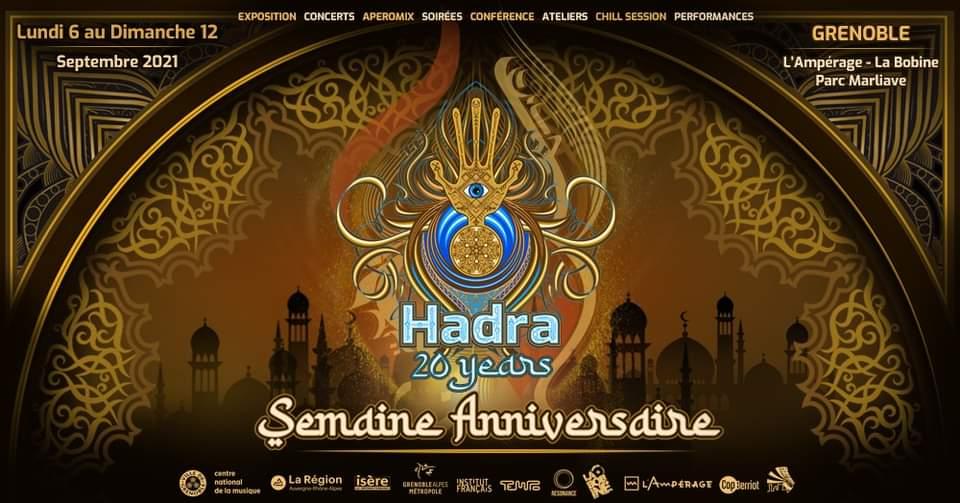 Une semaine de fête début septembre pour les 20 ans d'Hadra