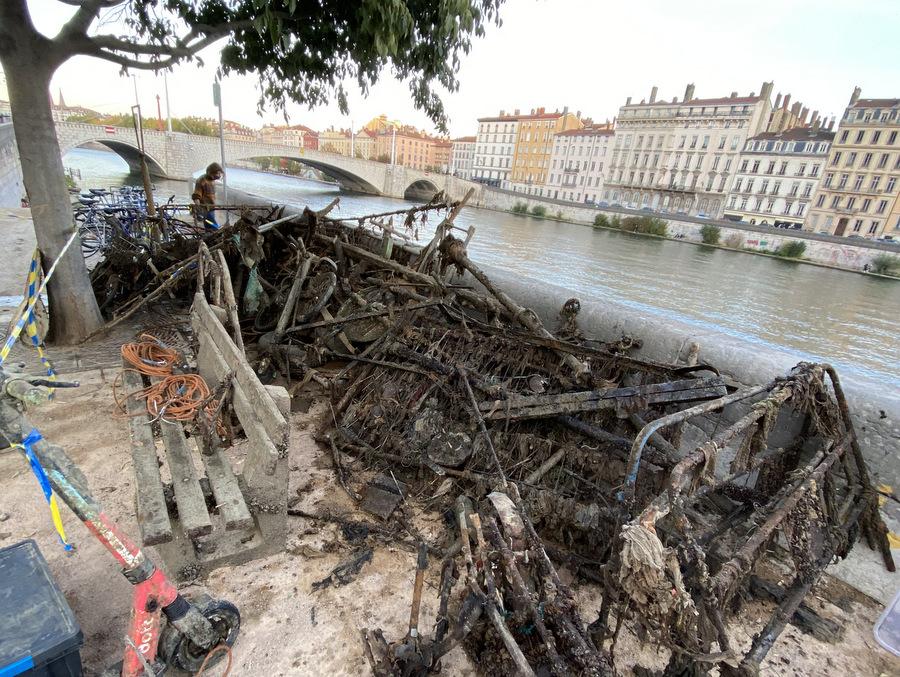 Nettoyons Lyon : « on a sorti 60 tonnes de déchets »
