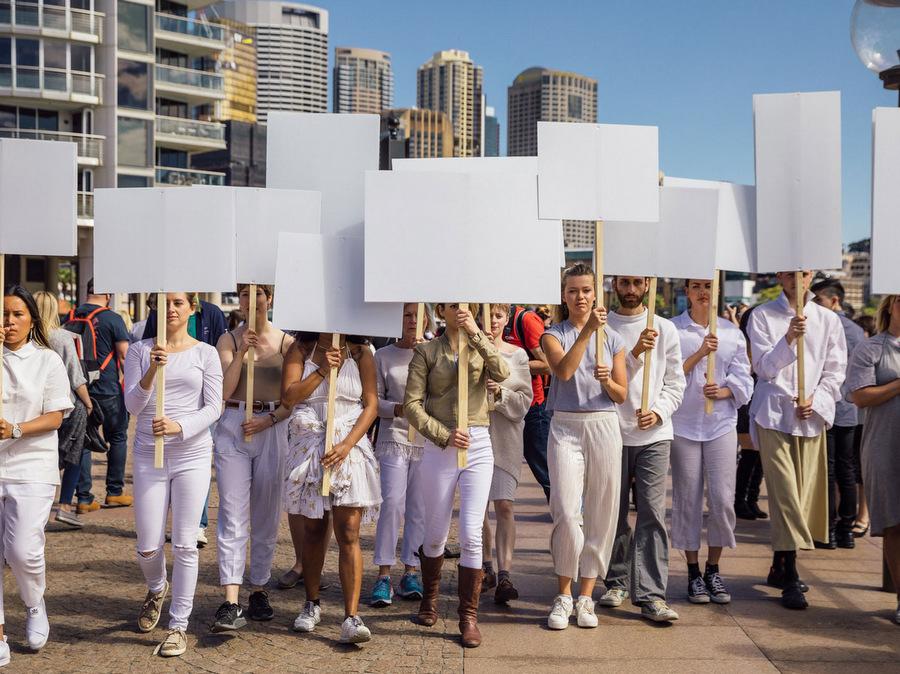 Manifester, une performance signée Anna Halprin au Parc de la Tête d'Or