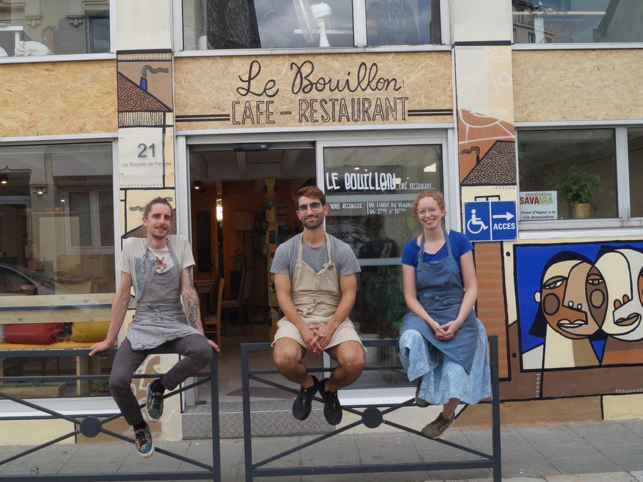 Le Bouillon, cantine antigaspi