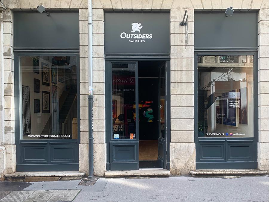 Outsiders, la nouvelle galerie street art de Lyon