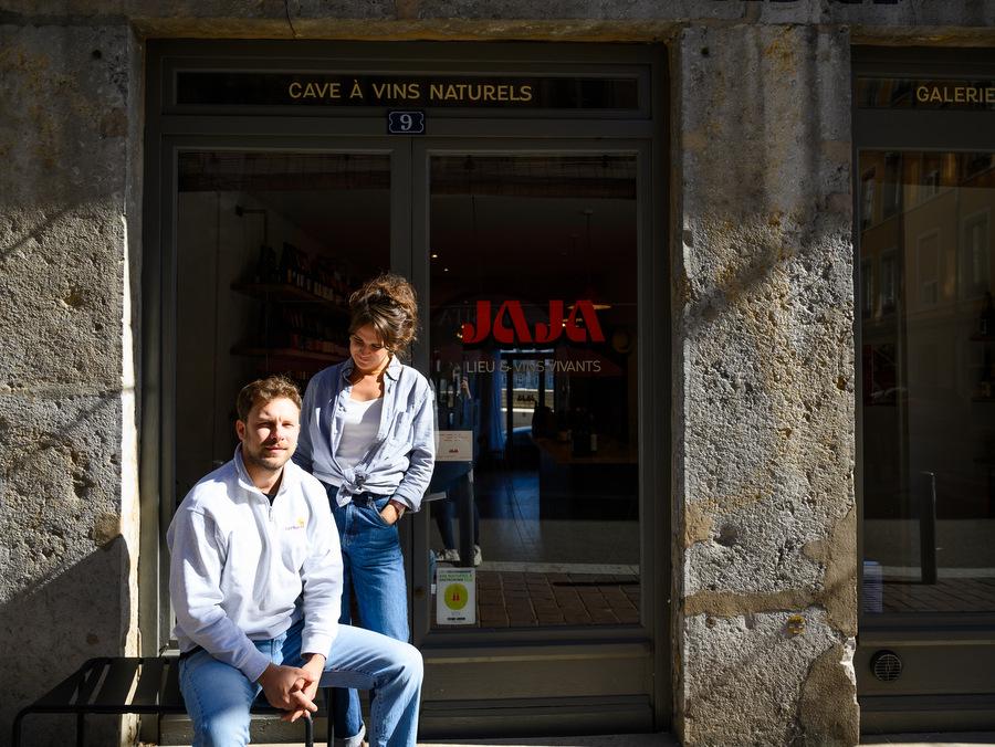 Jaja, du vin nature dans le Vieux-Lyon