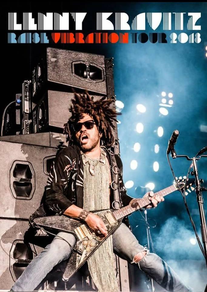 """Tournée """"Raise vibration"""" de Lenny Kravitz"""