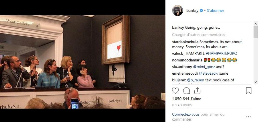 Banksy, la broyeuse à papier et la folie du marché de l'art