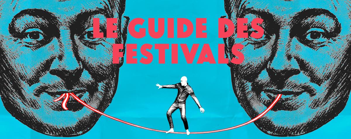 Le guide des festivals de 2018