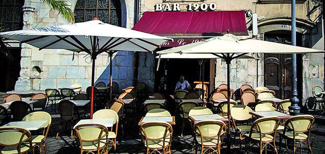 Le 1900 restaurant terrasse Grenoble