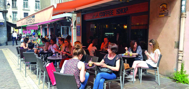 Le French Coffee Shop Championnet restaurant terrasse Grenoble
