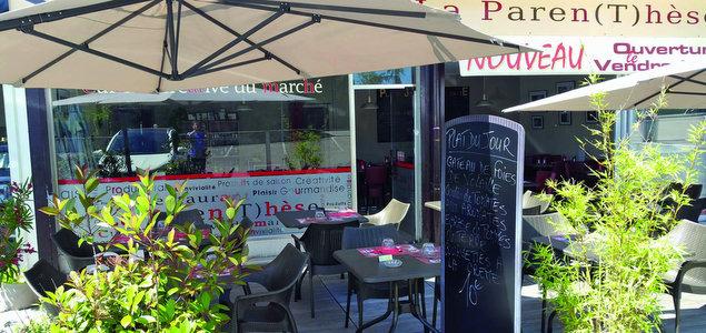 La Paren(T)hèse restaurant terrasse Meylan