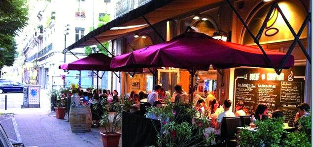 Le Bœuf au Comptoir restaurant terrasse Grenoble