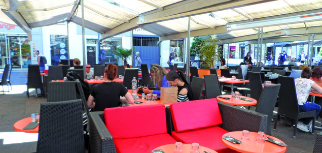 Brasserie des Fleurs restaurant terrasse Grenoble