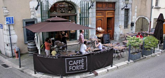 Le Caffè Forté restaurant terrasse Grenoble