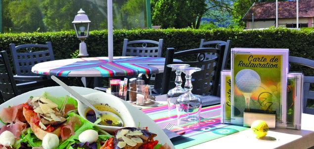 Le Club House restaurant terrasse Uriage Les Bains