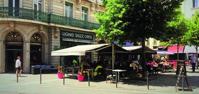 Ligne Sezz restaurant terrasse Grenoble