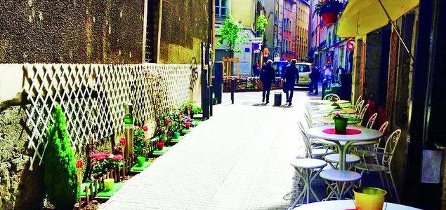 La Mandoline restaurant terrasse Grenoble