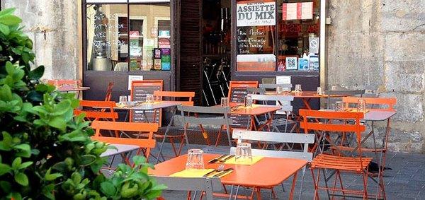 Le Mix restaurant terrasse Grenoble