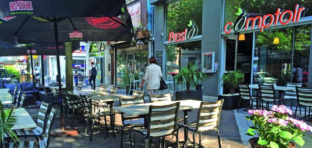 Presto Comptoir restaurant terrasse Grenoble