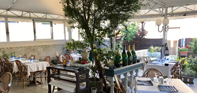 Le Brasciol restaurant terrasse La Tronche