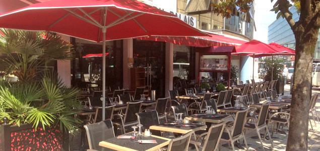 Brasserie du Palais restaurant terrasse Grenoble