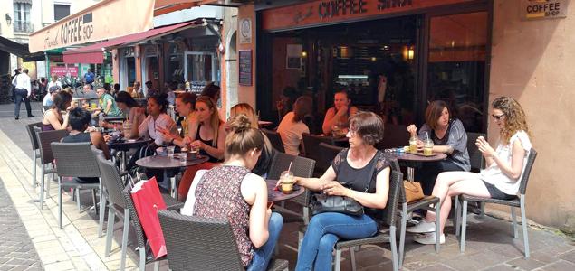 Le French Coffee Shop Claveyson restaurant terrasse Grenoble