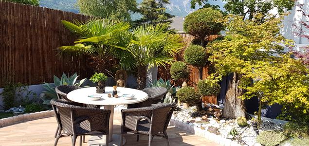 Le Katana restaurant terrasse La Tronche