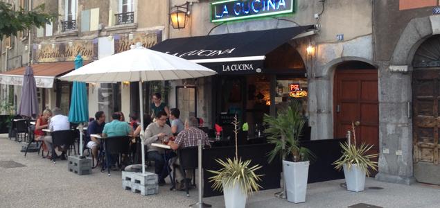 La Cucina restaurant terrasse Grenoble