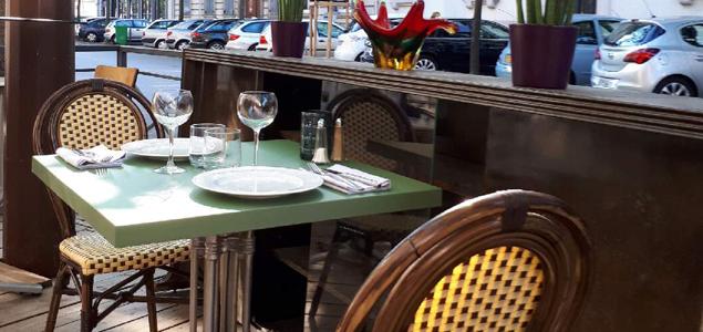 Le Moderne restaurant terrasse Grenoble