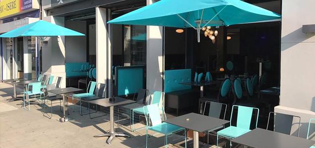 Le Phénicien restaurant terrasse Grenoble