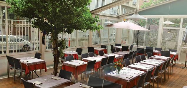 Le Phnom-Penh restaurant terrasse Grenoble