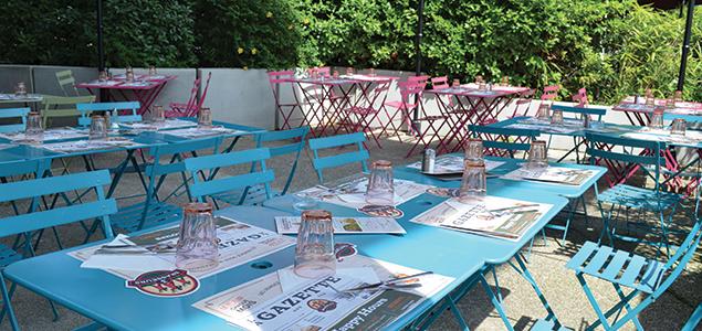 Les 3 Brasseurs restaurant terrasse Echirolles