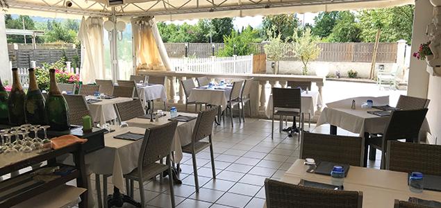 La Brasciol restaurant terrasse La Tronche
